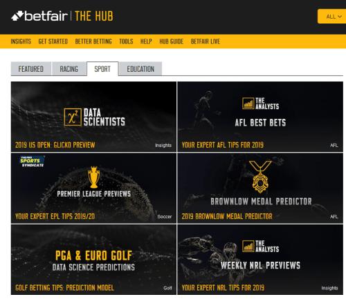 betfair hub