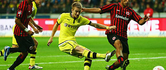 Resultado de imagem para Borussia Dortmund vs Frankfurt