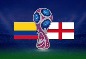 WC Colombia vs England