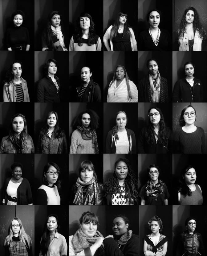 Portraits of Bay Area Women by Tatyana Fazlalizadeh