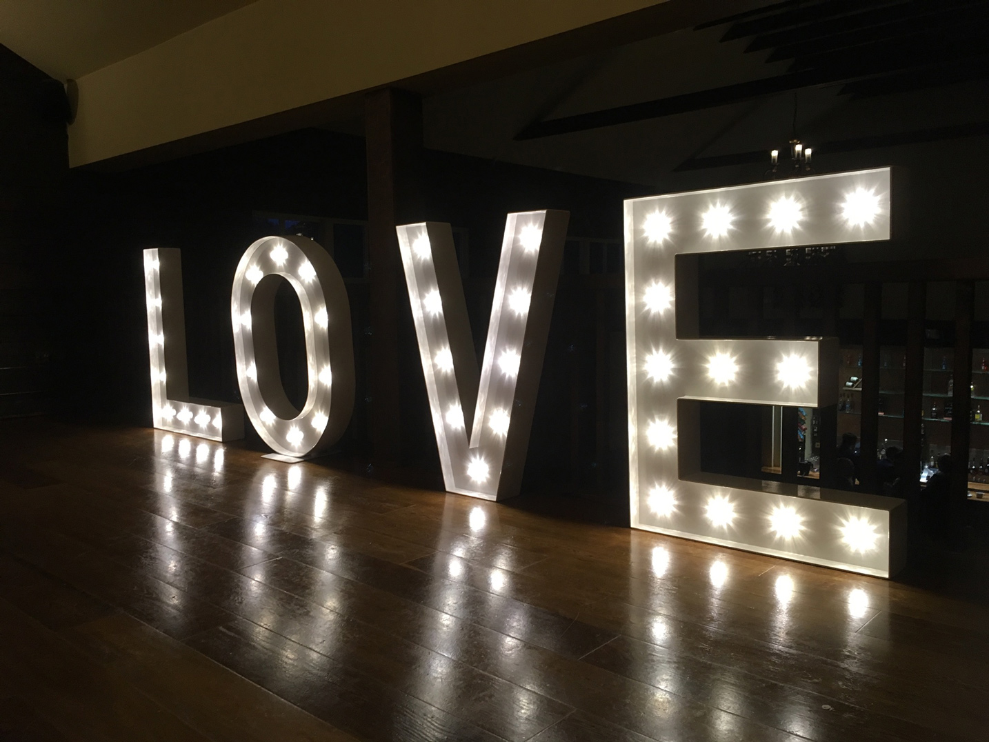 Light Up Love Letters For Hire