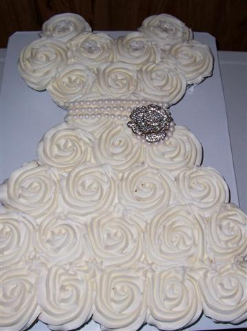 Bridal Shower Cupcake Dress   Bettycake s Photo s and More Bridal Shower Cupcake Dress