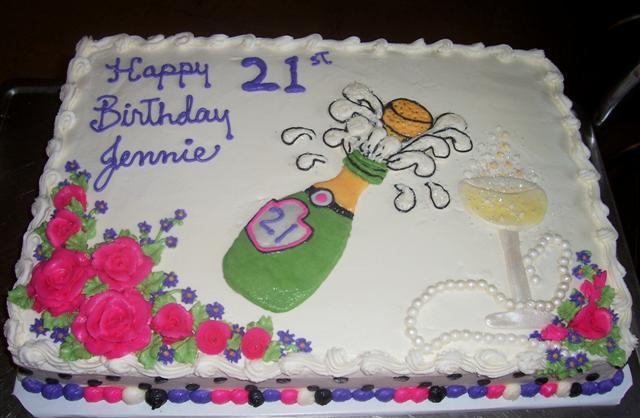 Jennie S 21st Birthday Bettycake S Photo S And More