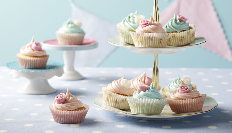 Easy Fairy Cakes Recipes