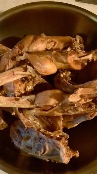 Boiled birds
