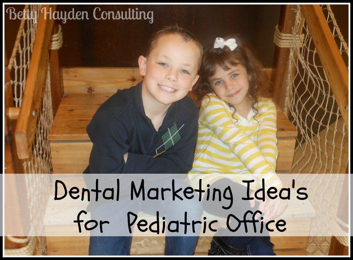 how to bring in new pediatric dental patients?