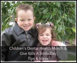 children's dental health month marketing ideas give kids a smile day ideas