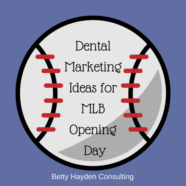 Baseball Opening Day Dental Marketing Ideas
