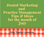 Dental Tips and Ideas for the month of July
