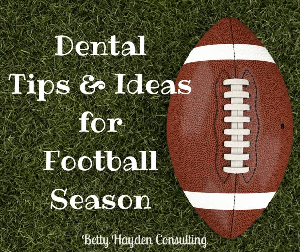 Dental Office Tips and Ideas for Football Season