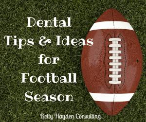 dental ideas for football season