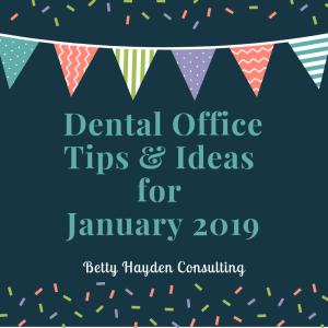 dental ideas for January winter dental ideas from betty hayden consulting