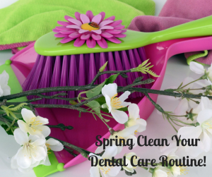 spring hygiene continuing care reminder dentist office