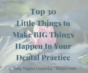 Betty Hayden Consulting Dental Coach