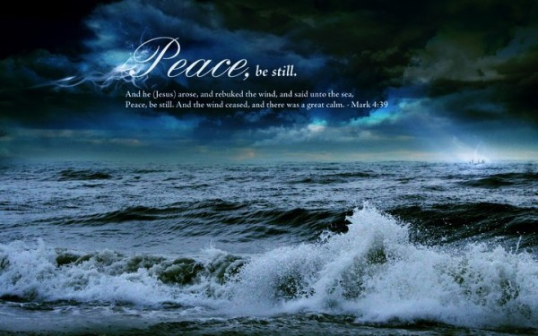 Peace (Mark 4:39)