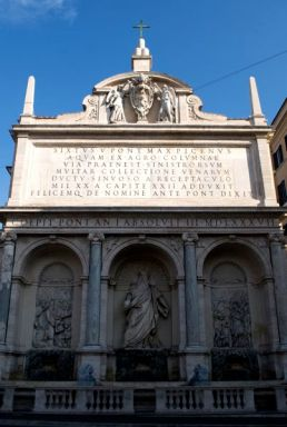 The Moses Fountain, Domenico Fontana, 1587.
