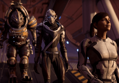 Геймплей Mass Effect: Andromeda на The Game Awards 2016