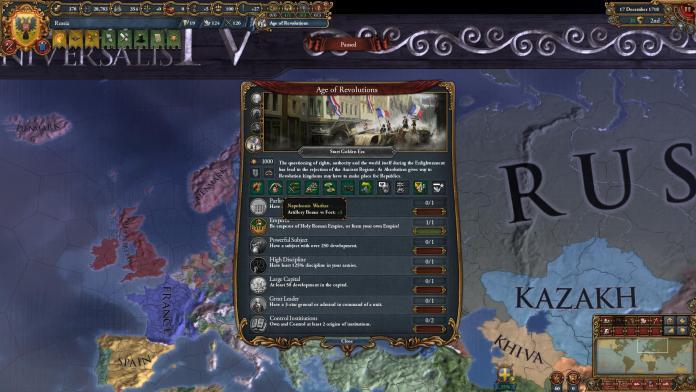 Europa Universalis IV: Эпоха Революций. Патч 1.20