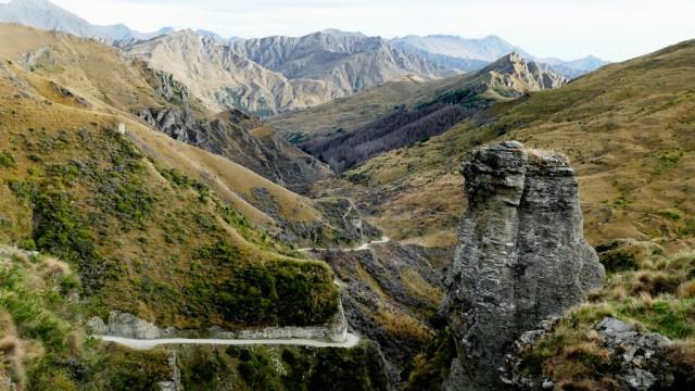 Skipers Canyon, Новая Зеландия