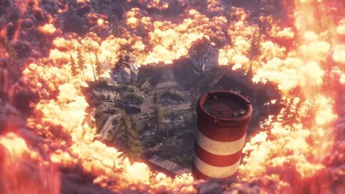 Карта Firestorm d новом режиме Battle Royale в Battlefield V