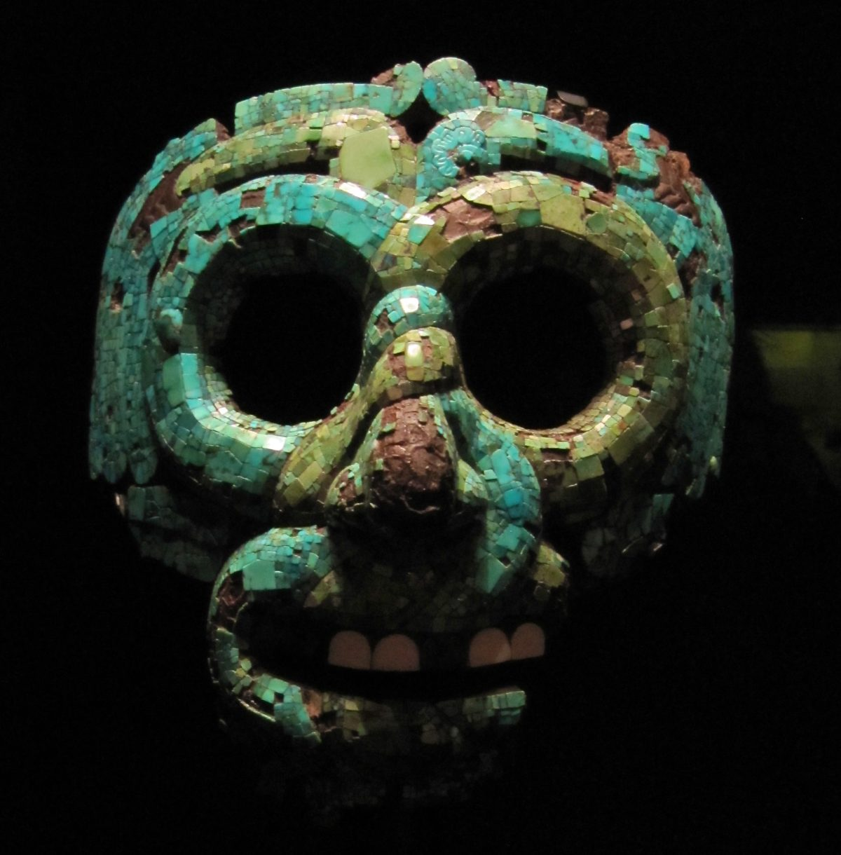 Aztec mask, The British Museum.