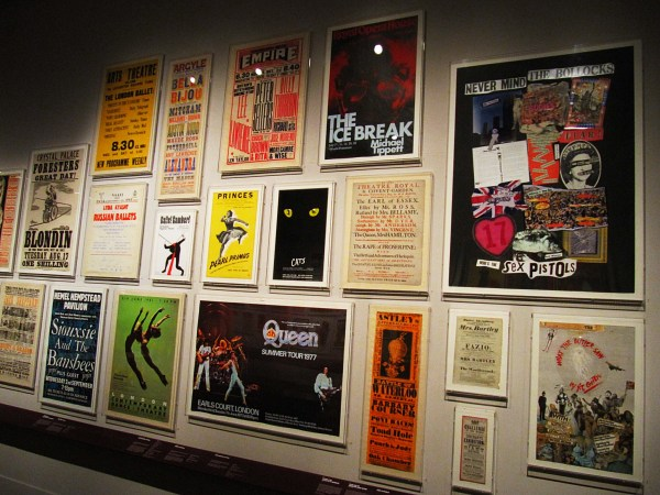Old theatre posters, V&A Museum.