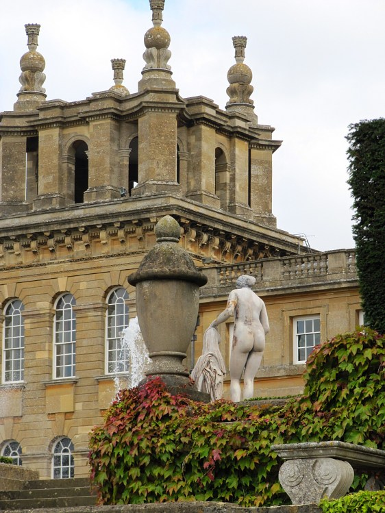 Garden of Blenheim Palace