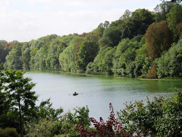 Paddling the River Glyme