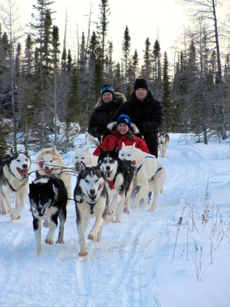 A day at Bluesky Expeditions in Churchill, Manitoba