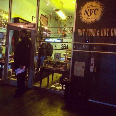 Trendy and tasty tapas awaits through the pawn shop.