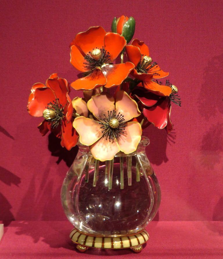 Imperial Anemones, House of Carl Fabergé.