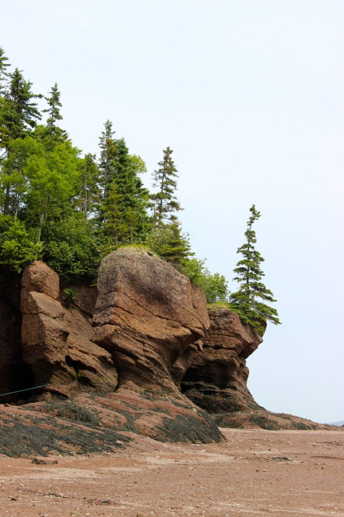 Hopewell Rocks, New Brunswick.