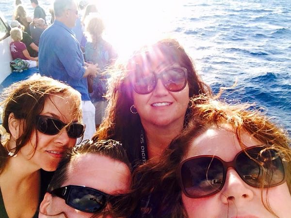 Selfie on the Island Rhythms cruise via Pacific Whale Foundation.