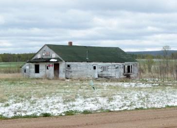 Old buildings, Manitoba