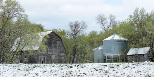 Old farm, Manitoba