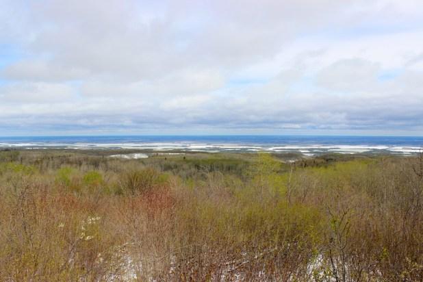 The Manitoba escarpment. Riding Mountain National Park.