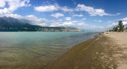 Super shallow Jasper Lake