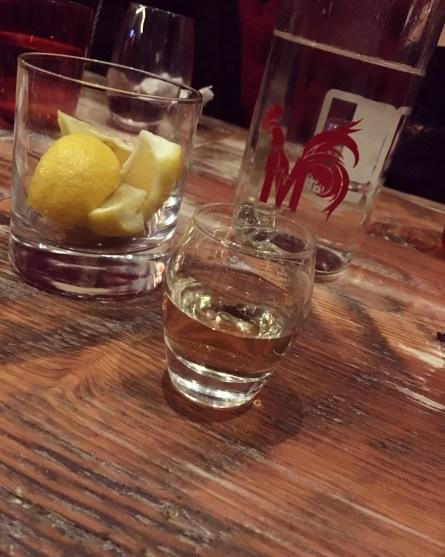 Tequila at Merchant Kitchen