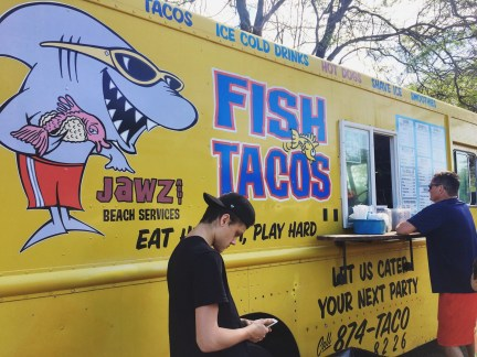 Time for fish tacos!