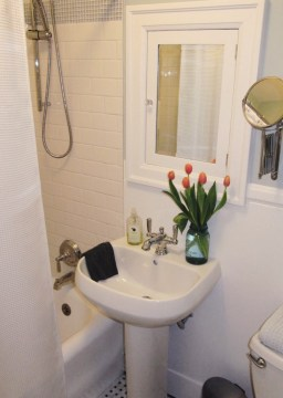 Bathroom renovation: After