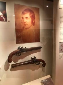 Robert Burns' duelling pistols