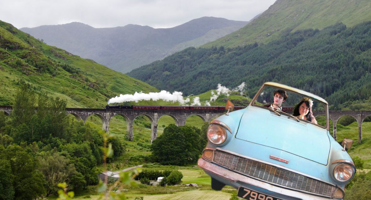 Potter & Me: A silly journey seeking all things Potter in Scotland