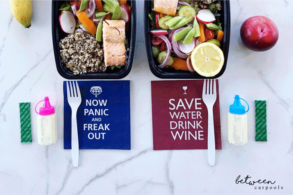 Moms often pack healthy lunches for everyone else, but forget about themselves. Here's the solution.