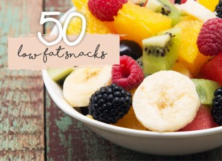 50 low fat snacks