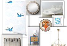 Nina Dwek designs a boy's bedroom. Interior Design for cutest boys bedroom.