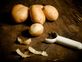 Finding Inspiration Within the Potato Peels