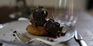BBQ Braised Beef Recipe. Tempura Rice and Braised beef.