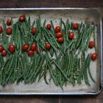 Two-Ingredient Side Dishes: Roasted French Beans and Grape Tomatoes