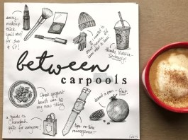 A Look Behind the Scenes at the Between Carpools (Literally!) Team So, do you think we chose the right name?