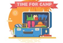 "Sending a child to sleepaway? Overwhelmed with all the ""stuff"" they need? This list can help. If you're sending your child off to camp for the first time, it's hard to imagine all the things they'll need once they're away from home."